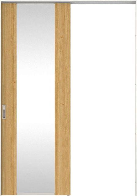 日本の樹 吊戸・片引 2Jデザイン扉セット 2300高 錠付・明かり窓なし 栗 大建工業の建具