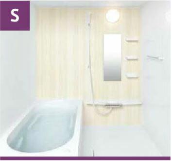 リノビオ Vシリーズ システムバスルーム セットイメージS サイズ:1418