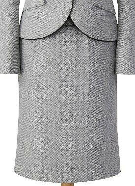ファンシーミックスツイルのスカート/cressai(セロリー)/事務服・制服におすすめ/大きいサイズあります  |事務 ユニフォーム ユニホーム ビジネス オフィス 企業制服 仕事着 オフィスウェア 事務制服 スカート 制服専科
