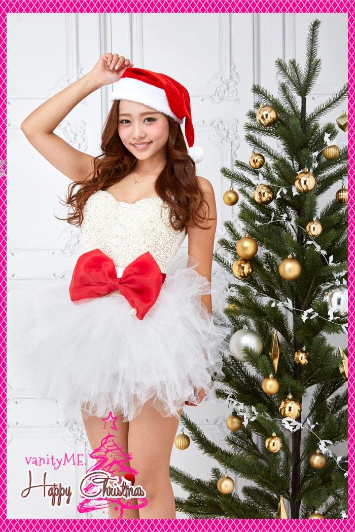 サンタ コスプレ クリスマス コスプレ ホワイトサンタコーデ vanityME.オリジナルコーディネート vcscd-0006