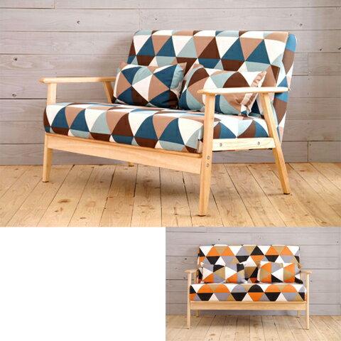 2人掛けソファー 幅110cm 布張り製 北欧風 2人用ソファー 二人掛けソファー 二人用ソファー そふぁー ラブソファー コンパクトソファー