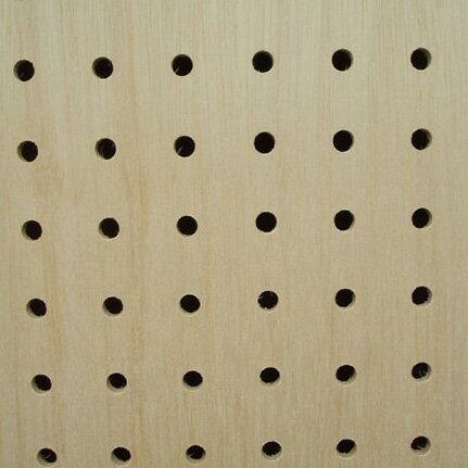 送料無料★10枚セット【有孔ボード】UKB-R4M2-10S無塗装 ラワン合板 パンチング穴あきボード 厚さ4mm 920×1830
