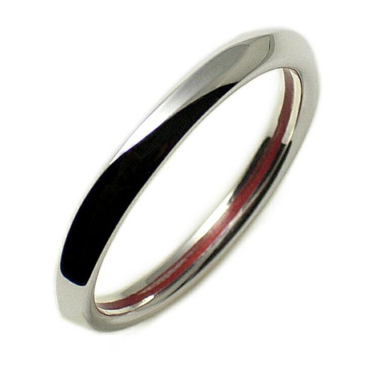 リング メンズ 指輪 誕生日プレゼント LOVE of DESTINY 合わせてハート 赤い糸 送料無料