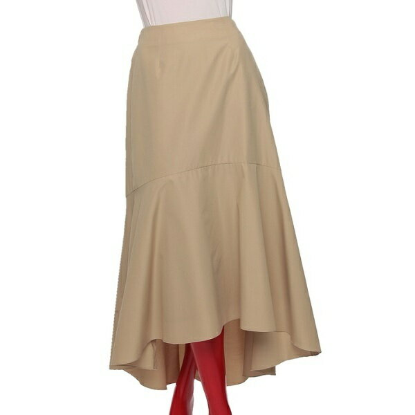 DSC. T/Cバックシレーライトグログランフィッシュテールスカート/ダブルスタンダードクロージング(DOUBLE STANDARD CLOTHING)