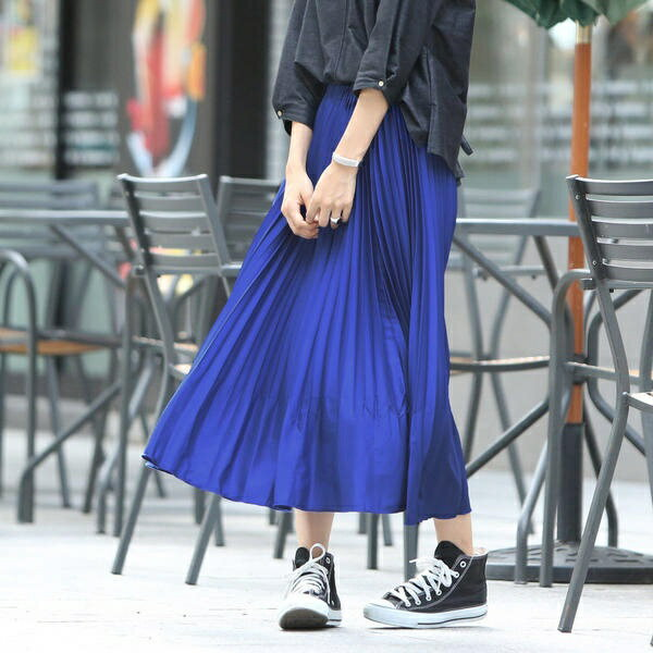 【socolla】カラープリーツスカート/メイソングレイ(MAYSON GREY)