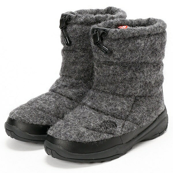 THE NORTH FACE/防水ウールブーツ/NUPTSE BOOTIE WP WOOL LUXE/ザ・ノース・フェイス(THE NORTH FACE)