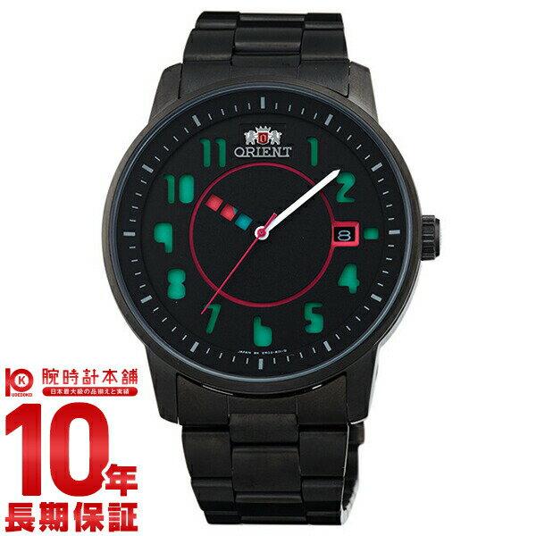 【9/15~ 3000円以上購入でポイント+3倍!】オリエント ORIENT スタイリッシュ&スマート DISK TYPOGRAPHY ブラック WV0841ER [正規品] メンズ 腕時計 時計