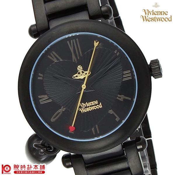 【9/15~ 3000円以上購入でポイント+3倍!】ヴィヴィアンウエストウッド VivienneWestwood オーブ VV006BK [海外輸入品] レディース 腕時計 時計