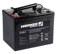 ERGOTRON SV32交換用バッテリー 33 Ah 97-479