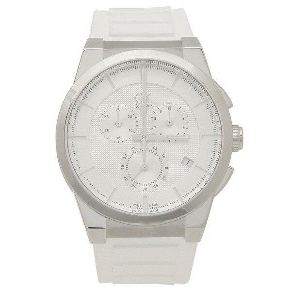 カルバンクライン 時計 メンズ CALVIN KLEIN K2S371L6 ダート 腕時計 ウォッチ ホワイト/シルバー