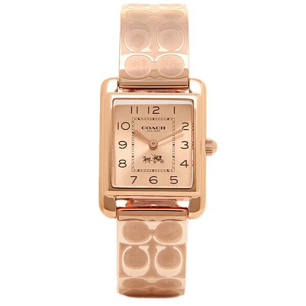 コーチ 時計 レディース COACH 14502161 PAGE BANGLE ペイジ バングル 腕時計 ウォッチ ピンクゴールド