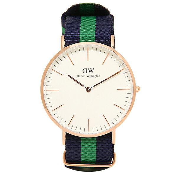 ダニエルウェリントン 時計 メンズ/レディース Daniel Wellington 0105DW ベルト40 CLASSIC クラシック 腕時計 WARWICK/ROSEGOLD