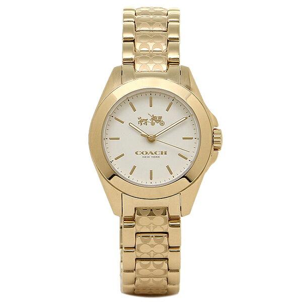 コーチ 時計 COACH 14502184 TRISTEN トリステンシグネチャー 腕時計 ウォッチ イエローゴールド