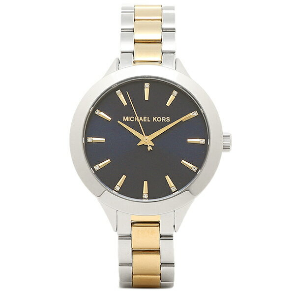 マイケルコース 腕時計 アウトレット MICHAEL KORS MK3528 ゴールド シルバー ネイビー