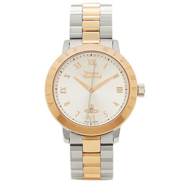 ヴィヴィアン ウエストウッド レディース腕時計 VIVIENNE WESTWOOD VV152RSSL シルバー ローズゴールド