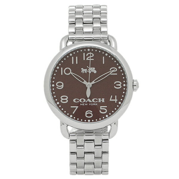 コーチ 時計 アウトレット COACH W1524 BCY レディース腕時計ウォッチ シルバー/ボルドー