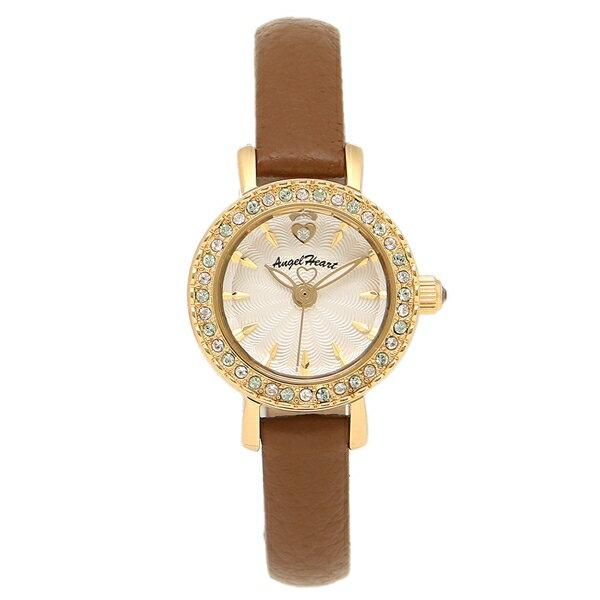 ANGEL HEART 腕時計 エンジェルハート ET21Y-BW ホワイト ゴールド ブラウン