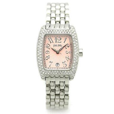 フォリフォリ 時計 FOLLI FOLLIE 腕時計 レディース WF5T081BDP ピンク/シルバー ウォッチ