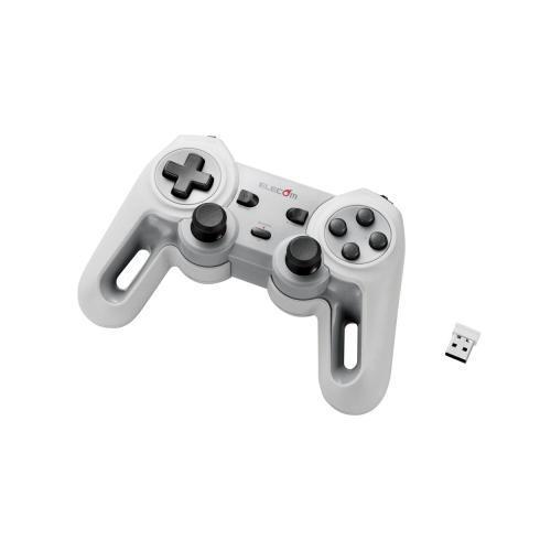 【ポイント20倍】エレコム 超高性能ワイヤレスゲームパッド JC-U4113SWH