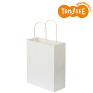 【ポイント20倍】(まとめ)手提袋 丸紐 白無地・小小 50枚入×6