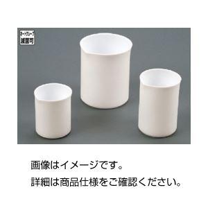 (まとめ)フッ素樹脂ビーカー100ml【×10セット】