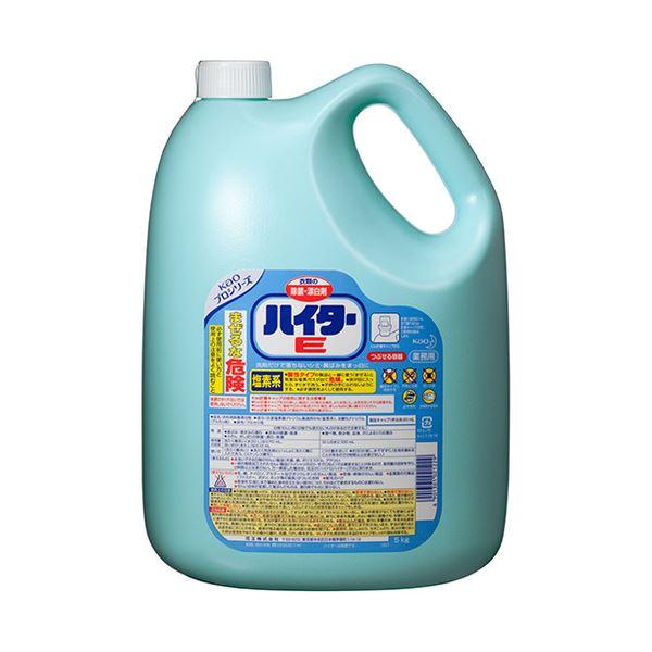 【ポイント20倍】(まとめ) 花王 ハイターE 洗濯用漂白剤 業務用 5kg 1セット(3本) 【×2セット】