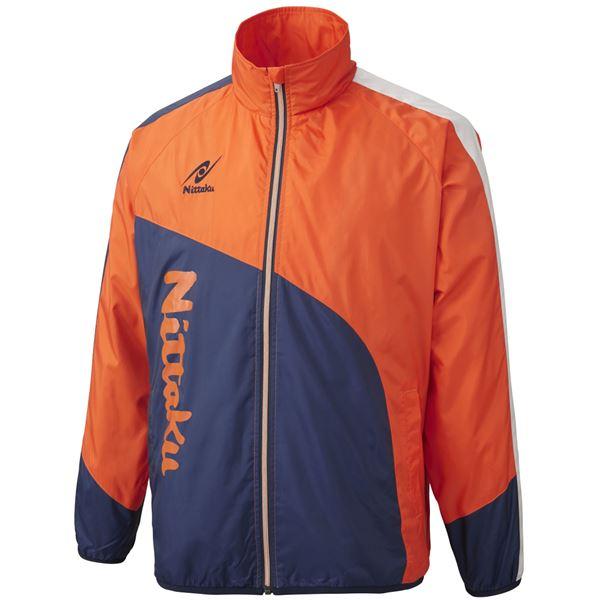 ニッタク(Nittaku) ライトウォーマー CUR シャツ NW2840 オレンジ XO