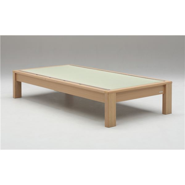 【ポイント20倍】畳ベッド【フレームのみ】【スミカ】 (セミダブル・ブラウン・ヘッドレス) グランツ GLANZ【代引不可】