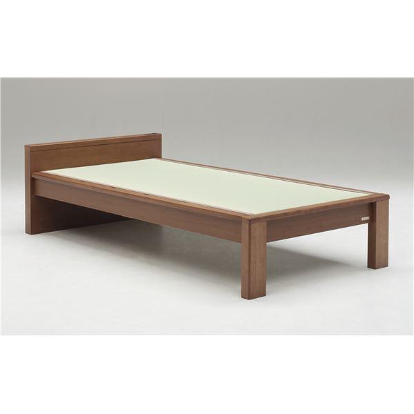 畳ベッド【フレームのみ】【スミカ】 (シングル・ナチュラル・フラットタイプ) グランツ GLANZ【代引不可】