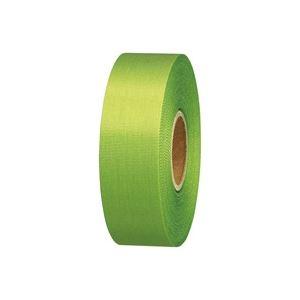 【ポイント20倍】(業務用100セット) ジョインテックス カラーリボン黄緑 24mm*25m B824J-YG