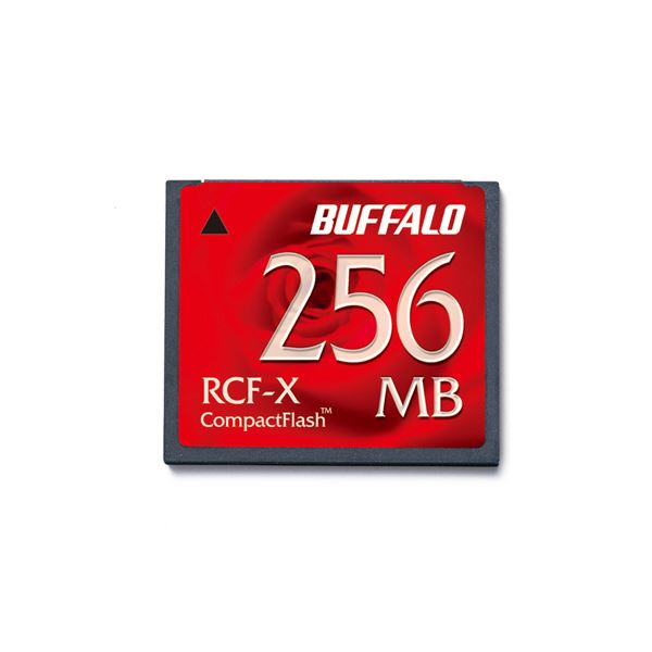 日本限定 【ポイント20倍】(まとめ) バッファロー コンパクトフラッシュ 256MB RCF-X256MY 1枚 【×2セット】