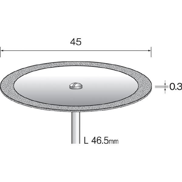 ミニター MC1244 (#A5241)ダイヤモンドカッティングディスク (1コ)