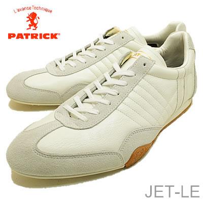 【返品無料対応】 PATRICK パトリック JET-LE ジェット レザー ホワイト 靴 スニーカー シューズ