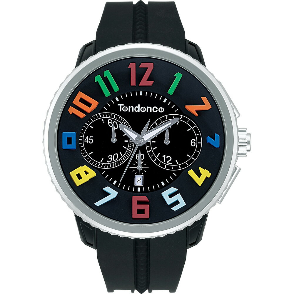Tendence TG046013RRound Gulliver Rainbowテンデンス 腕時計ラウンドガリバー クロノ レインボー