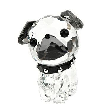 SWAROVSKI 5063333スワロフスキーアクセサリーPuppy Roxy(パグ)犬 置物