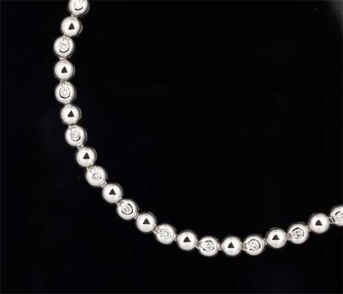 Pt ダイヤモンド 0.54ctプラチナ ブレスレット《送料無料!》