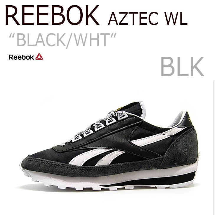 【送料無料】 Reebok AZTEC WL BLACK/WHITE【リーボック】【アズテック】【AR0617】 シューズ