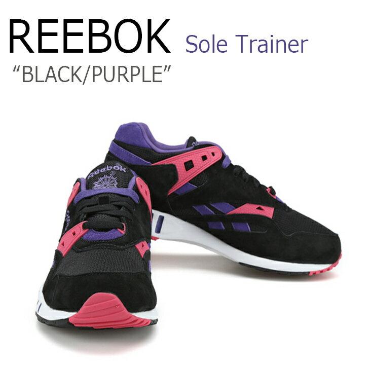 【送料無料】Reebok/Sole Trainer/BLACK/PURPLE【リーボック】【M46516】 シューズ