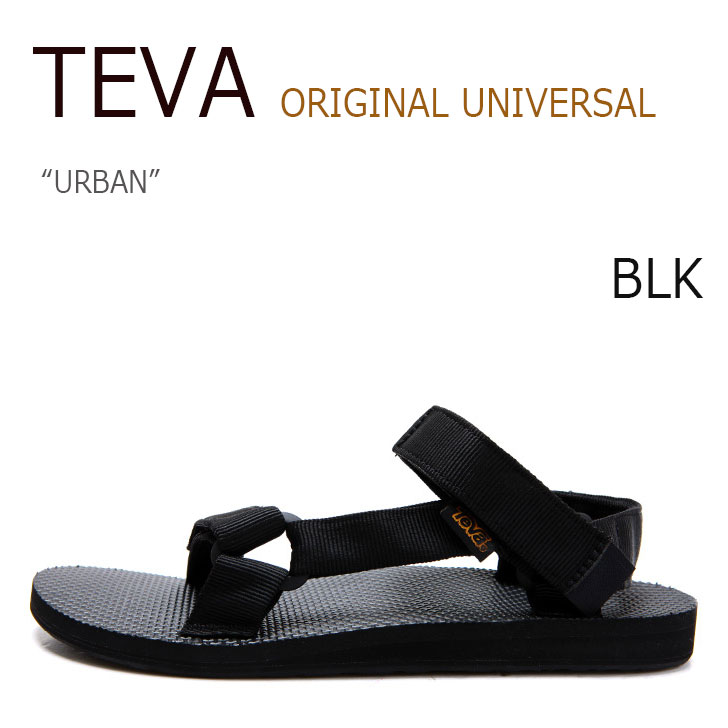 【送料無料】TEVA ORIGINAL UNIVERSAL URBAN BLACK【テバ】【サンダル】【1004010-BLK】 シューズ