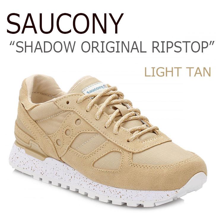 送料無料 サッカニー スニーカー Saucony メンズ SHADOW ORIGINAL RIPSTOP シャドウオリジナル リップストップ LIGHT TAN タン S70300-1 シューズ