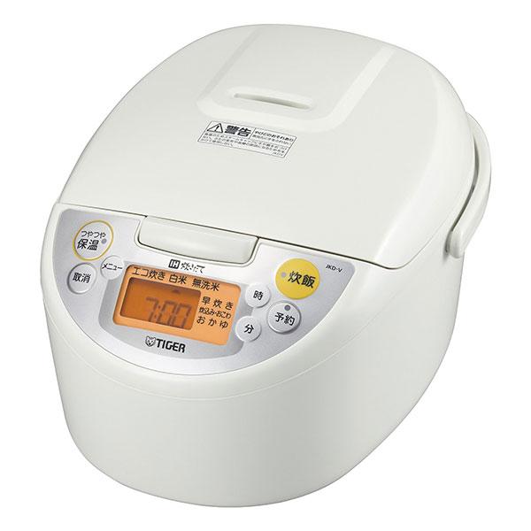 ��料無料】TIGER JKD-V180-W ホワイト 炊��� [IH炊飯器(1�炊�)]