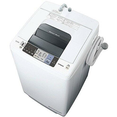 【送料無料】日立 NW-70A(W) ピュアホワイト シャワー浸透洗浄 白い約束 [全自動洗濯機(洗濯7.0kg)]