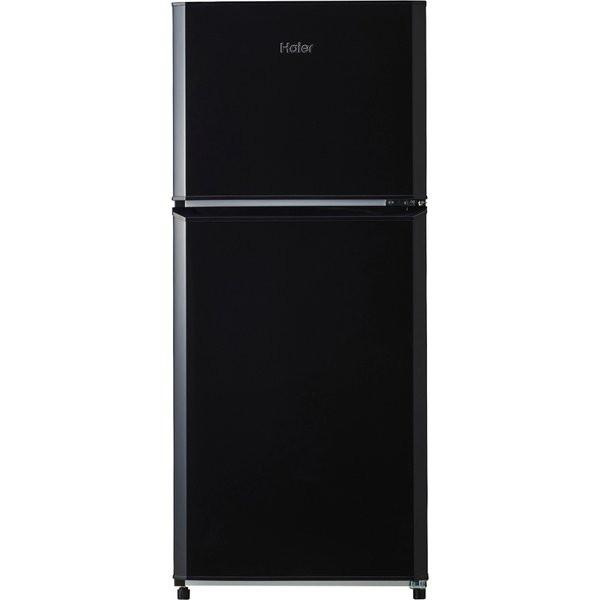 ��料無料】�イアール JR-N121A-K ブラック [直冷� 冷蔵庫 121L 2ドア �開�] �熱性能天� 強化ガラストレイ コンパクト 新生活 一人暮ら�