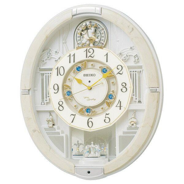 【送料無料】SEIKO RE576A セイコー ウエーブシンフォニー 電波掛時計