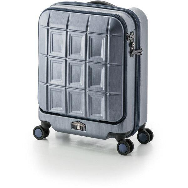 【送料無料】アジア・ラゲージ PTS-5005K マットブラッシュネイビー パンテオン [スーツケース (32L/1~3泊)]