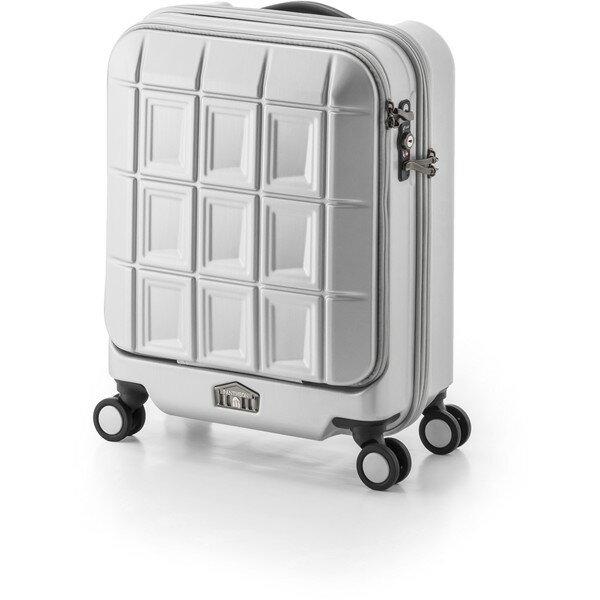 【送料無料】アジア・ラゲージ PTS-5005K マットブラッシュホワイト パンテオン [スーツケース (32L/1~3泊)]