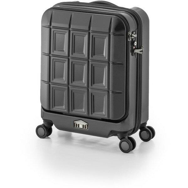 【送料無料】アジア・ラゲージ PTS-5005K マットブラック パンテオン [スーツケース (32L/1~3泊)]