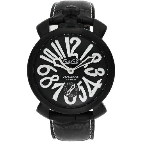【送料無料】GAGA milano 5012.06S-BLK マヌアーレ 自動巻き [腕時計]