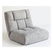 【送料無料】市場株式会社 ZHF-5009GY グレー [つながる ゆったり座椅子]【同梱配送不可】【代引き不可】【沖縄・北海道・離島配送不可】