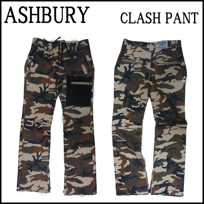 ASHBURY パンツ ウェア 【NIMA JALALI】CLASH PANT [クラッシュパンツ] スノーボードウェアー スノボウェア